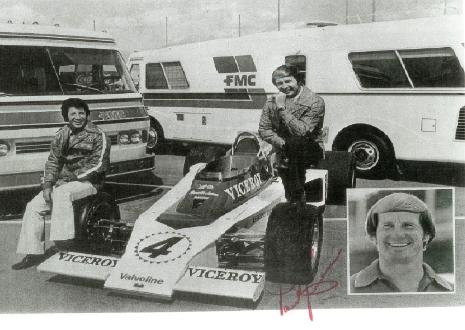 Mario Andretti and Parnelli Jones With FMC Motorcoaches